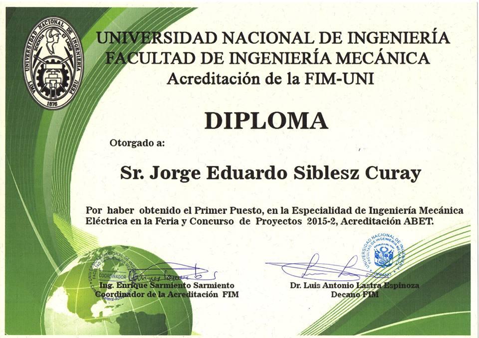 Diploma FIM 2015 II