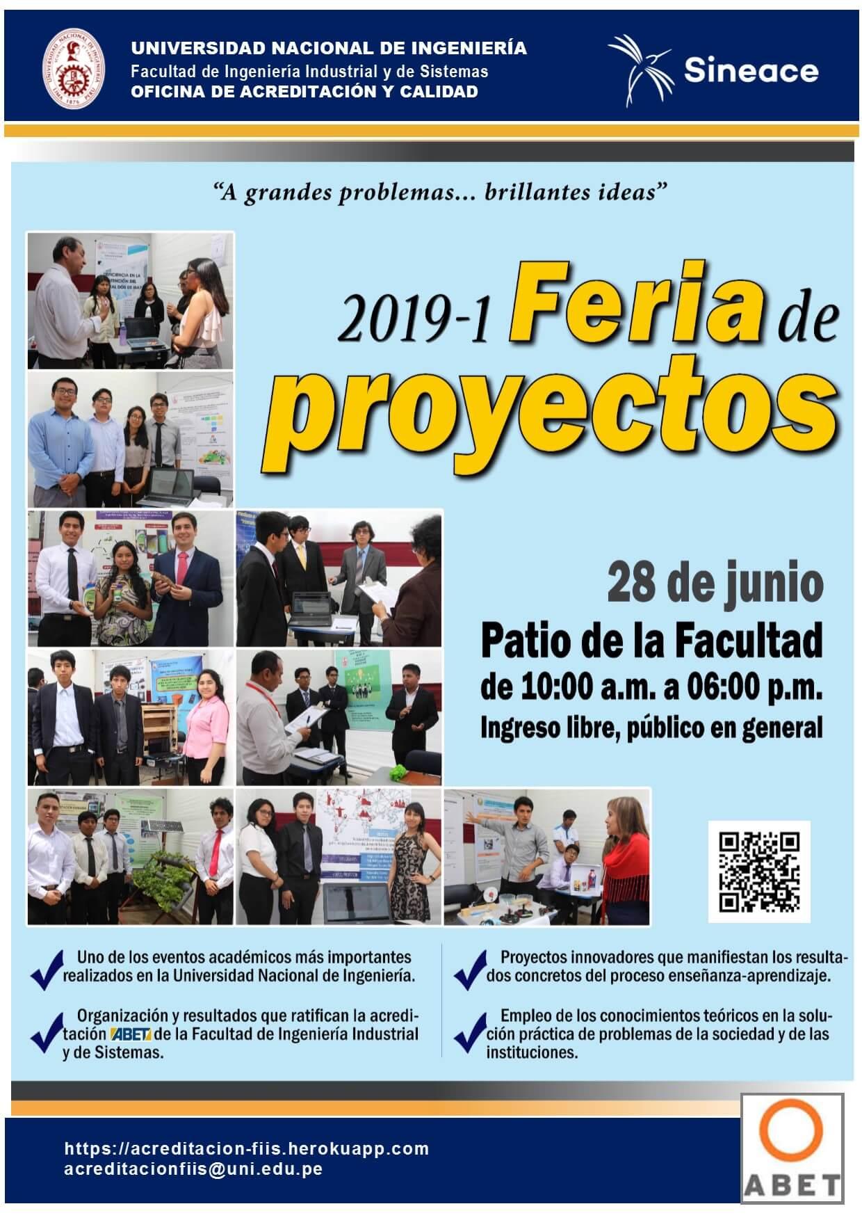Banner Feria FIIS 2019I