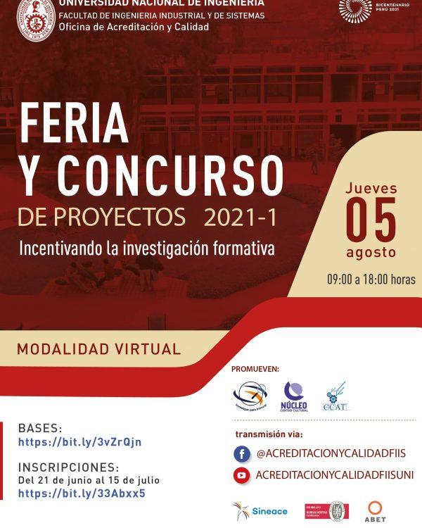 Banner Feria FIIS 2021-I